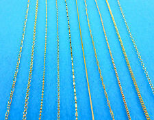 Mix 10PCS NEW Wholesale GF 18K GOLD FILL Necklace Chains Lobster Clasps Pendants
