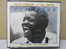 VERVE FULL SILVER 847 203-2- OSCAR PETERSON- The Will to Swing 2-CD Best of Jazz