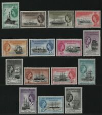 Falkland Dependencies 1954 - Mi-Nr. 19-33 ** - MNH - Freimarken / Definitives