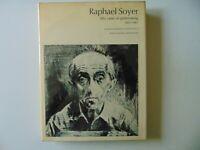 """Raphael Soyer : Fifty Years of Printmaking, 1917-1967"" W/ Signed Litho COA"