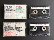 2 x Sony FXII 90 Cassette Tapes Chrome Class Sony FX2 Cassette Tapes