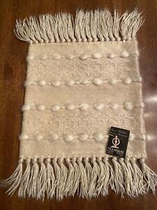 SOUTH AFRICAN TEXTILE Pure Mohair Pillow Sham TRANSKEI Hilmond Weavers Umtata