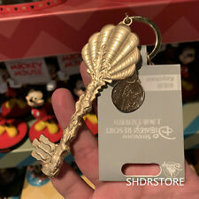 SHDR Ariel the little mermaid key keychain Shanghai Disney Disneyland Exclusive