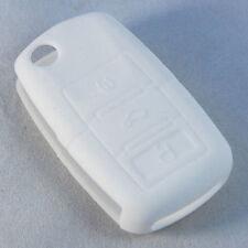 HQRP White Folding Flip Key FOB Case Shell Cover for VW Passat Beetle 2002-2007