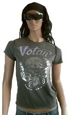 Amplified Votan strass Let's Jupe Tête de mort star VIP VINTAGE WOW tee-shirt