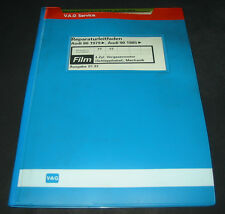 Microfich Audi 80 90 Typ 81 / 85 B2 4 Zylinder Vergaser Motor Schlepphebel 01/93