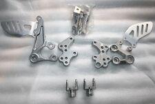 Ferse Platten Rest Füße Suzuki GSXR 1000 2005 2006 2007 2008 2009 2010 2011
