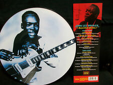 JOHN LEE HOOKER - ELECTRIC BLUES - Picture Disc LP Boom Boom Man / Blues Guitar