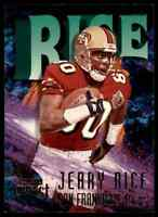 1997 SKYBOX IMPACT JERRY RICE SAN FRANCISCO 49ERS #80