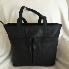 frye & co. Leather Tote Bag - Cellina , Black, New with Tags