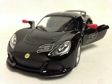 "2012 Lotus Exige S, 5"" Die Cast 1:32 Pull Back Action Car Kinsmart Toy Black"