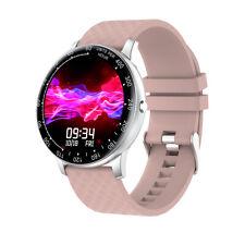 H30 Smart Watch 1.3inch Full Toch Smartwatch Waterproof Heart Rate Monitor Pink