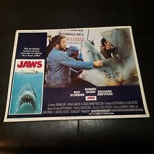 Jaws Lobby Card Signed By Richard Dreyfuss! Rare! 1975 75-155