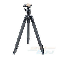 "New 64"" 6662A Universal Pro Compact Professional Camera Camcorder Tripod Stand"
