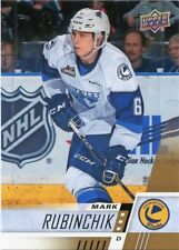 17/18 UPPER DECK CHL #225 MARK RUBINCHIK SASKATOON BLADES *48761