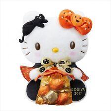GODIVA x Hello Kitty 2017 Halloween Chocolate & Plush Doll Set Limited Japan