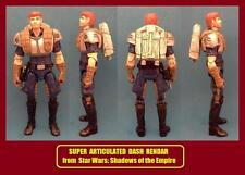 Custom Star Wars SUPER ARTICULATED DASH RENDAR shadows rogue one solo force jedi
