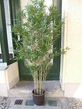 Künstlicher Oriental Bambus, 3522 Blätter, mit Naturbambus 1,85m Topqualität