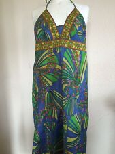AFTERSHOCK SILKY COLOURFUL/FLOWERY DRESS SIZE 8