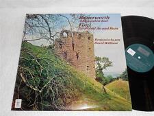 BENJAMIN LUXON~DAVID WILLISON Butterworth Finzi '76 ARGO ORIG STEREO LP NMint