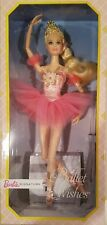 2017 BALLET WISHES Barbie Signature Doll Collector Pink Label New DVP52 NEW NRFB