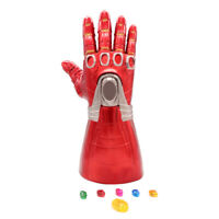 Iron Man Nano LED Gloves Thanos Infinity Gauntlet Avengers 4 Endgame Toys KIDS