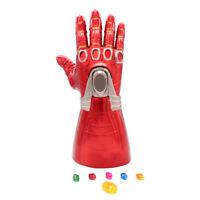 Iron Man Nano LED Gloves Thanos Infinity Gauntlet Avengers 4 Endgame Toys KIDS