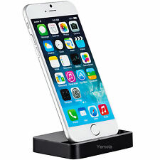 iPhone 6s iPhone 6 plus Dockingstation Ladestation Ladegerät Dock USB Tisch BL