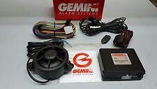 Antifurto allarme auto GEMINI 822 con utilizzo telecomando originale auto UNVERS