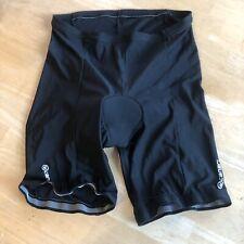 Canari Black Padded Cycling Bike Shorts Spandex Men's Xl Euc
