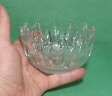 "crystal vase 4"" diameter 4"" tall"