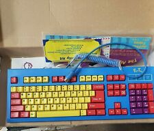 DIN 5 Pin Mini Compact Keyboard AT Din5 Connector Vintage Siig NEW IN BOX
