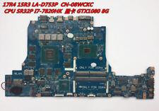 4FOR Dell Alienware 15 R3/17 R4 Laptop Motherboard CN-08WCKC 08WCKC 8WCKC