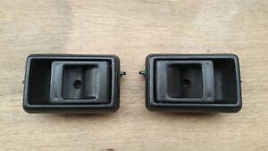 Black Inner Door Handle For Toyota Hilux RN85 LN106 2&4WD 10/88-10/97 LH+RH