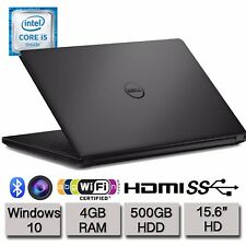 "Dell Inspiron 15 3558 15.6"" HD Laptop Intel Dual Core i5 4GB RAM 500GB HDD Win10"
