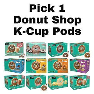 Pick 1 Donut Shop K-Cup Keurig Coffee Pods Box
