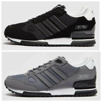 adidas Originals Mens ZX 750 Trainers Black / White Grey / White Shoes