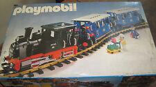 Playmobil LGB 4000 - blaues Personenwagen Set - Selten -  OVP + Trafo + 12Gleise