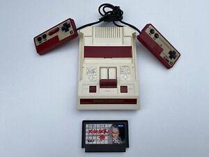 Nintendo Famicom Console NTSC J JAPAN WorkingWith One