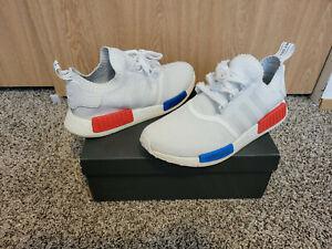 Men's Adidas NMD Runner R1 PK Primeknit OG White Size 10 Authentic Boost S79482