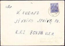 Germany - 1948 - 50 Pfennig Ultramarine Overprinted  # 629 Single Value Cover