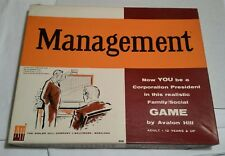 Avalon Hill Management 1961 2nd Edition Business Game Complete
