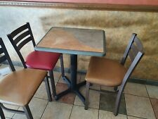 More details for heavy duty cafe tables