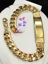 SOLID 18K Saudi Gold Chain Bracelet - 7 3/4 inches - 17.8 g