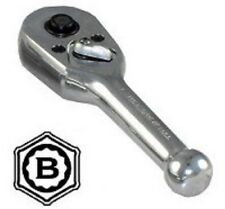 "BRITOOL HALLMARK 1/4"" Dr. STUBBY SHORT RATCHET 89mm Long - Quick Release SRCOMP"