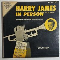 Harry James In Person and his Orchestra EP 2 Box Set (Columbia B-390)