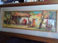 Malhoa Jose Praia das Macas artista quadro riproduzione dipinto olio tela a mano