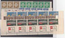 FRANCOBOLLI 1954 ISRAELE 5 SERIE 9 VALORI CON APPENDICE MNH Z/4784