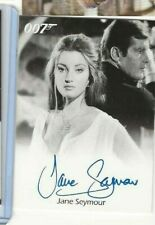Jane Seymour James Bond autograph card Rittenhouse 007 FINAL EDITION