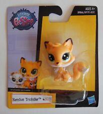 NEW Littlest Petshop LPS Hasbro Renston Orange Fox Trickster #108 Toy